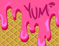 Illustration Friday: Pink