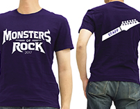 Transmedia: Monsters Of Rock Festival Rebrand