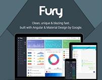 Fury - Angular 4 Material Design Admin Template