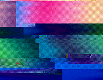 Glitch, interfering with beauty