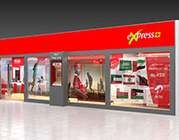 AIRTEL Africa Store Design/ POS_POP / Store fit outs