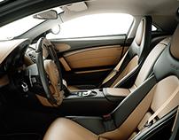 3D Car Interior