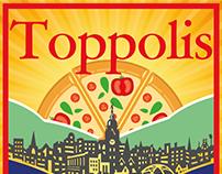 Toppolis Pizza Logo