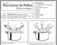 Como cocinar a un político (Infografía)