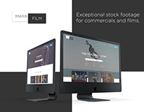 Web design - Exceptional stock footage for commercials