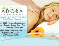 Adora Spa and Retreat - Print Ad
