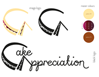 Cake Apppreciation visual identity