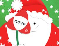 NOVO: Santa Claus Postcard|