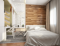 Modern bedroom for Teenage Boy