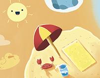 Ilustrações para a coleção Brick by Brick, Editora FTD
