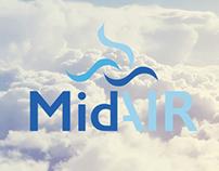 MidAir - East Midlands Airline Rebrand