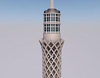 Cairo Tower Model