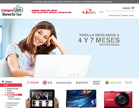Banorte's Compraclick Web Site