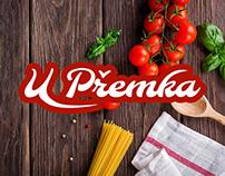 U Přemka - Branding identity