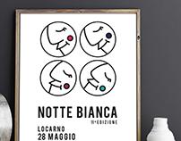 Notte Bianca di Locarno // Poster