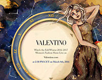 Valentino Countdown FW 2016 Entry