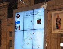 Nescafé Dolce Gusto Social Xmas Tree (Ambient & Fb app)