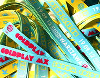 Wristbands Coldplay