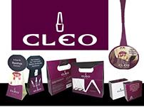 CLEO - Desenvolvimento de Id. Visual, Embalagem e PDV's