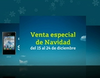 Movistar - Christmas Sales