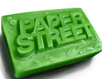 Paper Street - Logo Painting