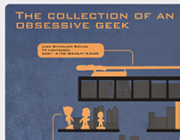 The Collection of an Obsessive Geek