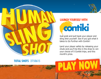 Contiki Human Slingshot