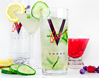 V-One Vodka Photography