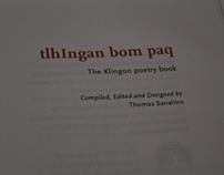 The Klingon Poetry Book