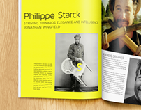 Philippe Starck Magazine Article
