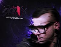 Skrillex Poster