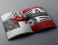 Stop violence brochure