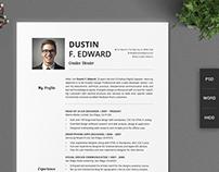 21 Timeless Resume CV Set No Icons