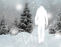 """The Grey"" Fan Poster"