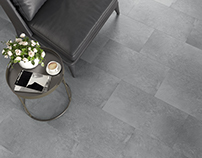Ceramic tile. Rovese - Slate grey nicepicturesco.com