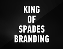 King of Spades | Branding