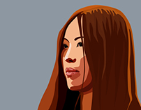 My first vectorial portrait
