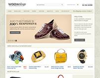 WoowShop - eCommerce Drupal Theme Design.