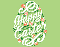 Happy Easter. Vector illustration