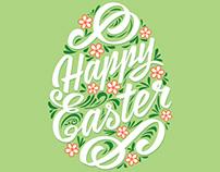 Happy Easter. Vector illustration