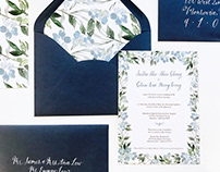 Wedding Suite- Invitation Design