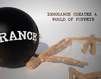 Ignorance creates a world of puppets