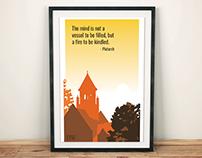 Poster Design // Landscapes