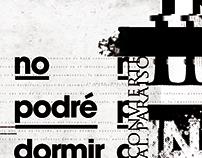 Experiencia Tipográfica - Insomnio