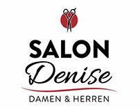Salon Denise - Logo Design, Layout & Lettering
