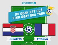 Du Doan Nha Vo Dich World Cup 2018 / Keyframe Training
