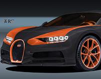 Bugatti Chiron WRC