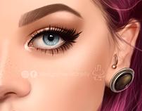purple hair :D