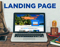 Tourist agency Sofitel - Landing Page Design