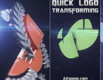 Quick Logo Transforming - After Effects Project